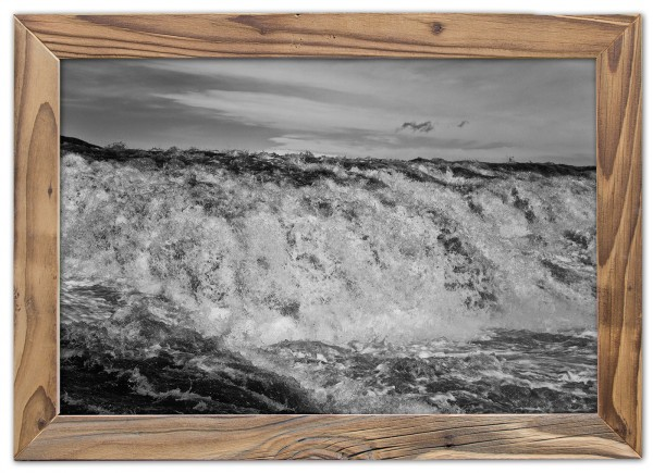 Reissende Fluten des Gullfoss im Haukadalur