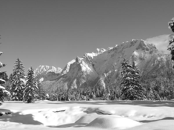 Winterstimmung mit Karwendel