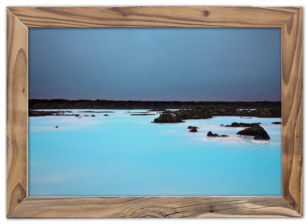 Die Blaue Lagune Islands / the blue lagoon of iceland