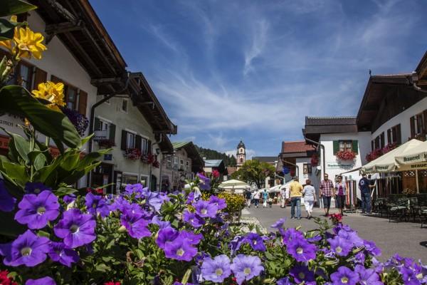 Obermarkt in Mittenwald