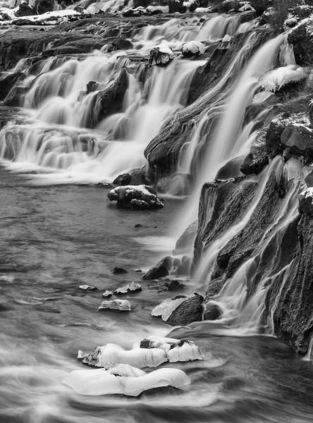 Fluss der Zeit Bildmotiv